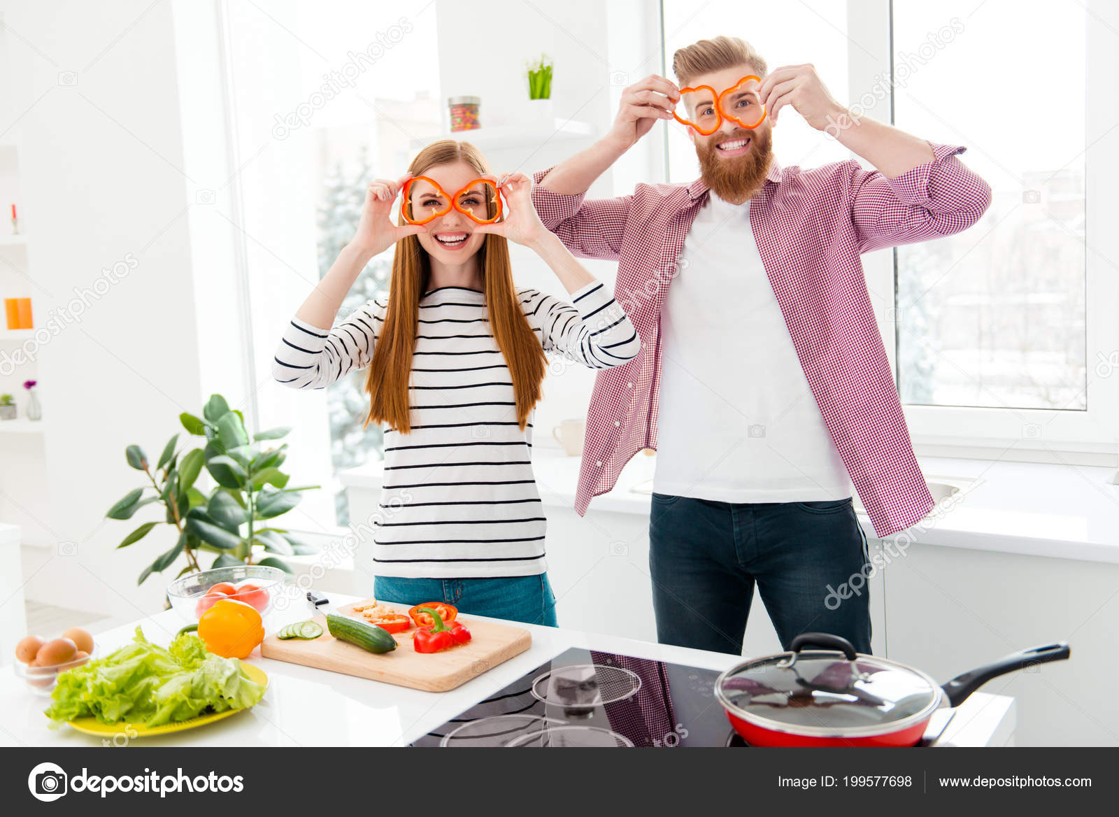 vegan veggie healthy nutrition fitness meal lifestyle laugh laughter concept stock photo