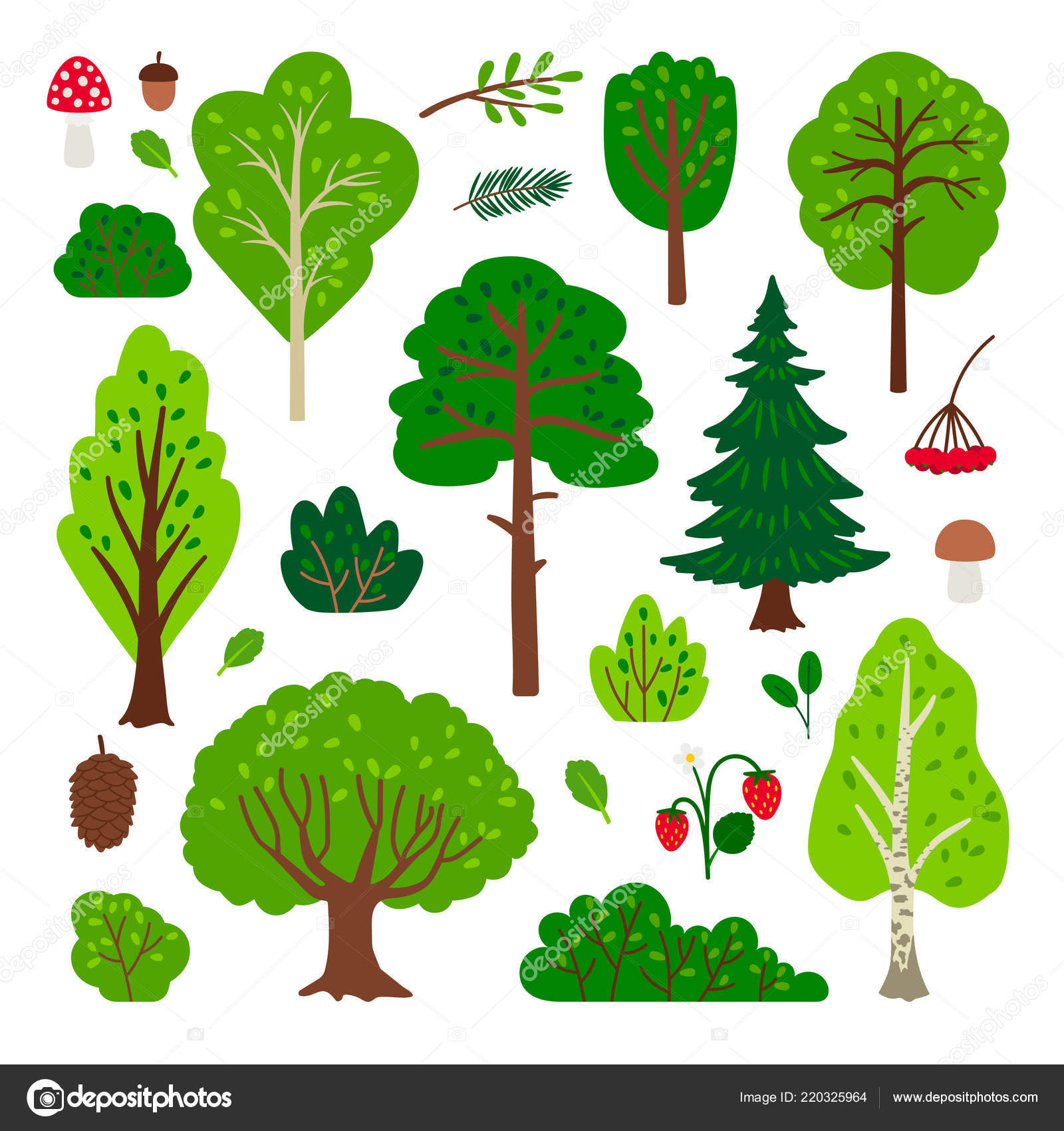 Cartoon Forest Trees Cartoon Forest Tree Set Stock Vector C Ssstocker 220325964 Illustration about cartoon forest trees, bushes, hedges and rocks. https depositphotos com 220325964 stock illustration cartoon forest tree set html