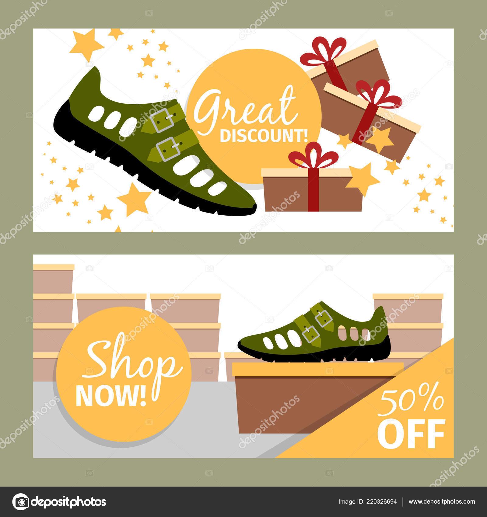0889be9f849398 Men summer green shoe flyers — Stock Vector © ssstocker  220326694
