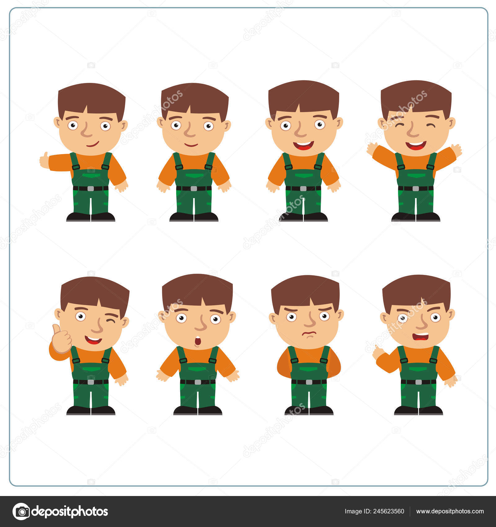 Funny Cartoon Images Of Boys cute funny cartoon character mechanic boys wearing overalls