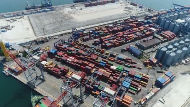 Námořní obchodní přístav Odessa. Letecký průzkum