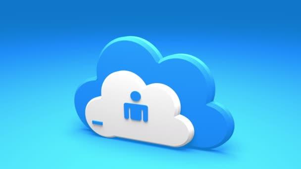 4k, frissítse az informatív felhő, feltölt cenzúra haladás büfé, web tech háttér.