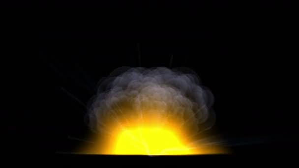 4k Explosion atom nuclear,explosives smoke dust fire,war military,power accidents energy particles fireworks.