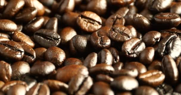 4k coffee beans closeup,drinks caffeine food raw material,delicious dishes bean