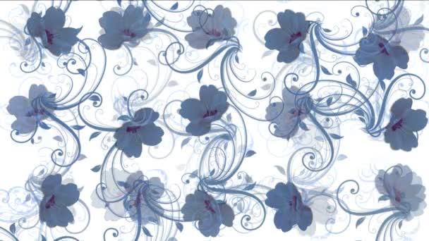 4k flower petals pattern background.