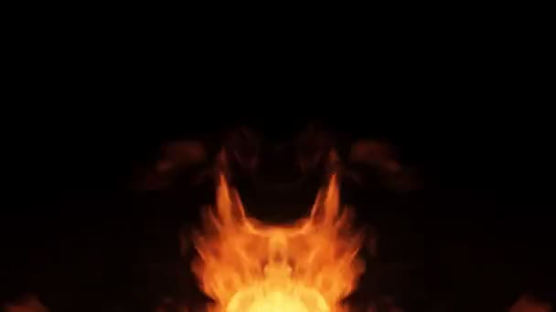 Zrcadlové pilíře ohně na bočních rámečcích