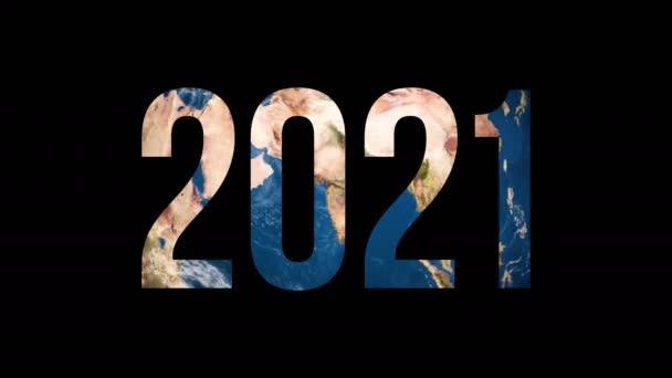 Text 2021 um den Erdglobus
