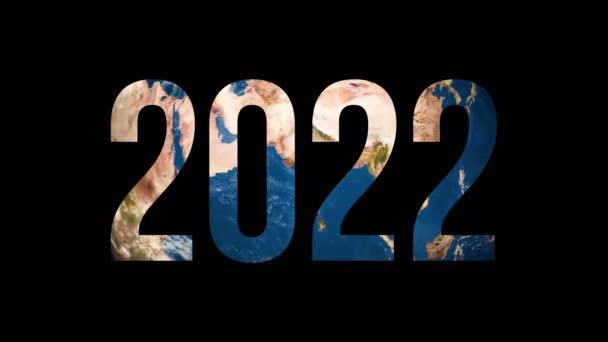 Text 2022 um den Erdglobus