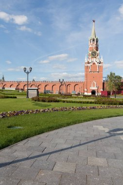 Moscow Kremlin in summer time