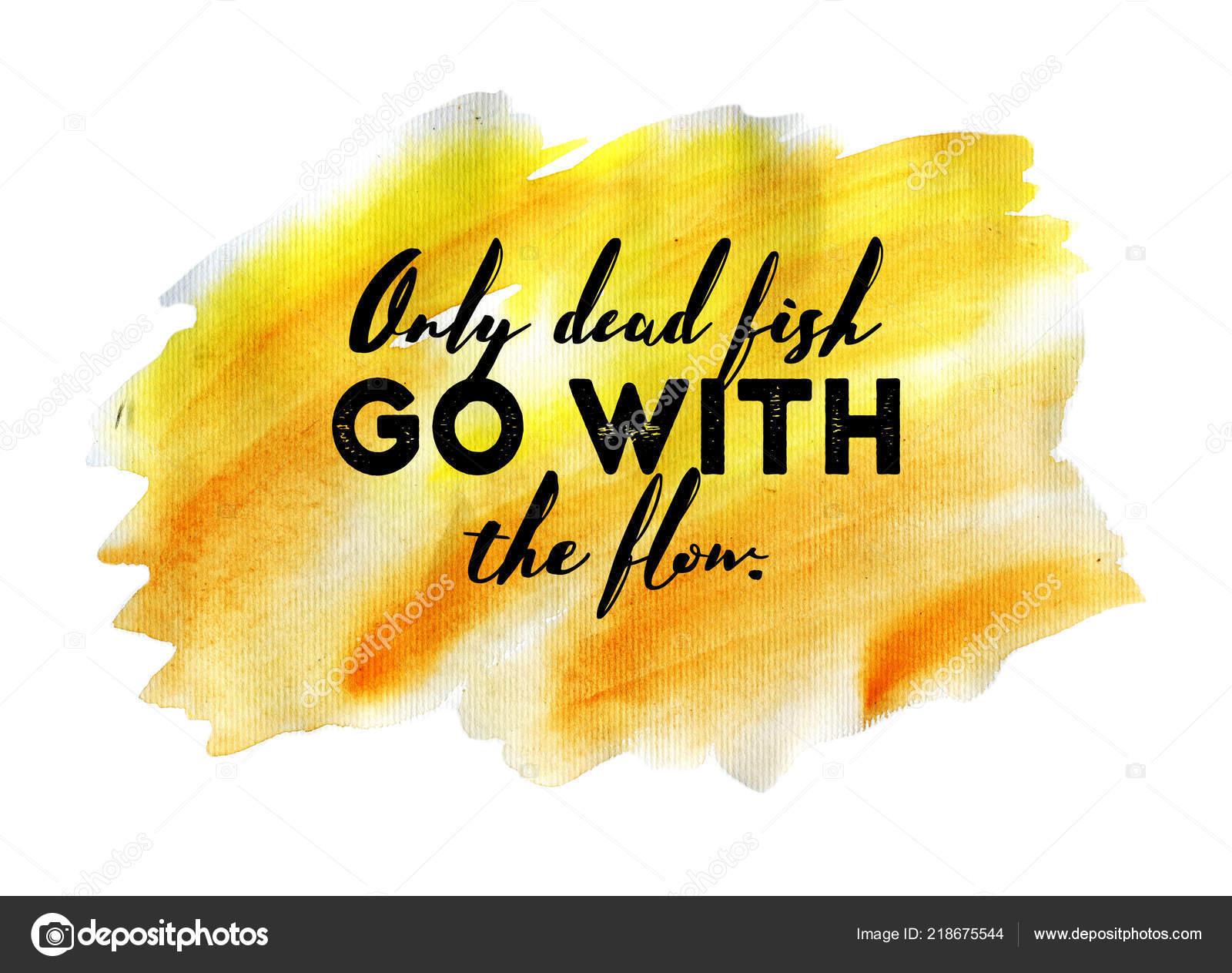 Zitat Von Hand Aquarell Inspirieren Lassen Inspirierende Kreative
