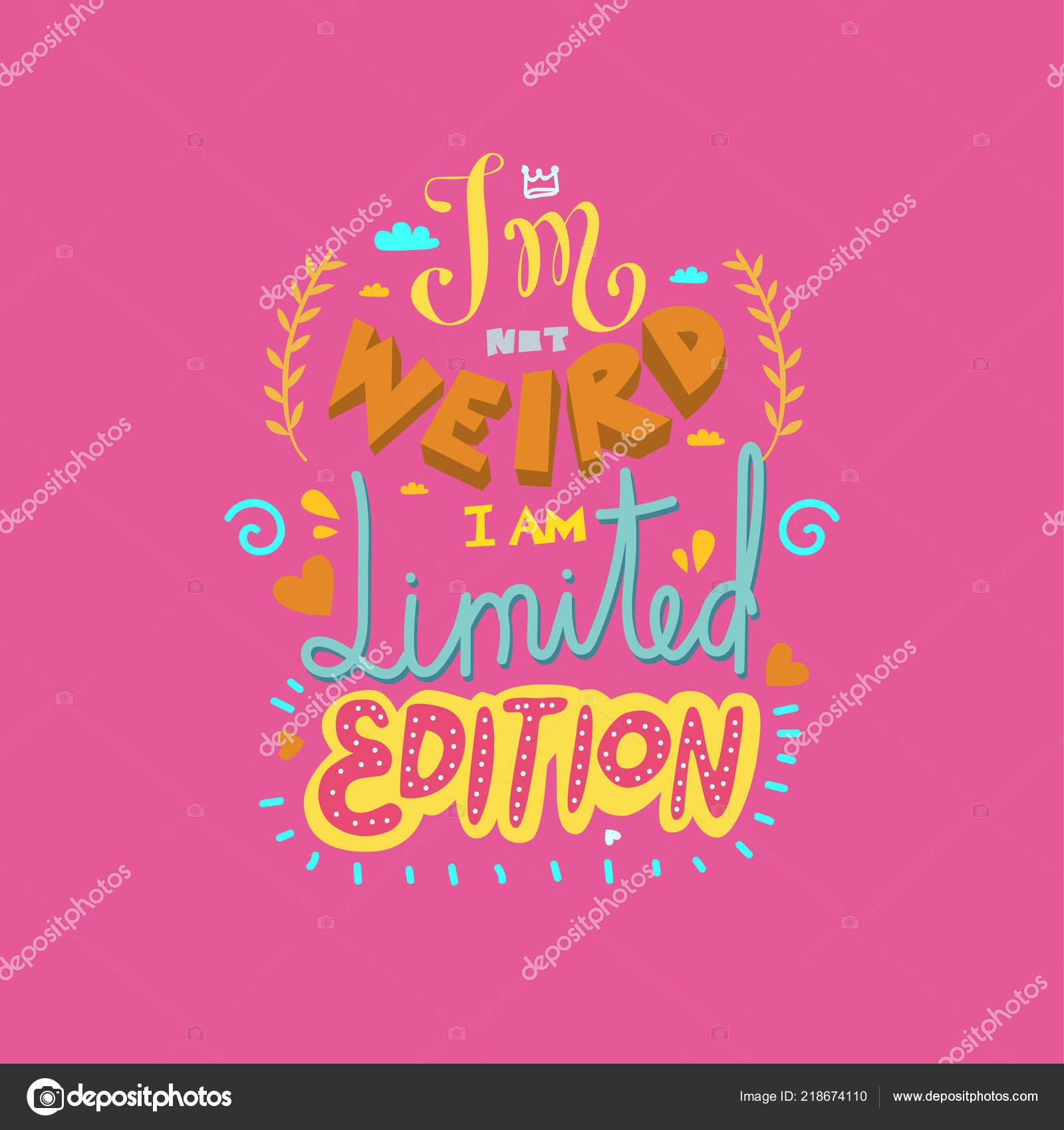 Divertido Mano Dibujado Letras Motivadoras Inspiración