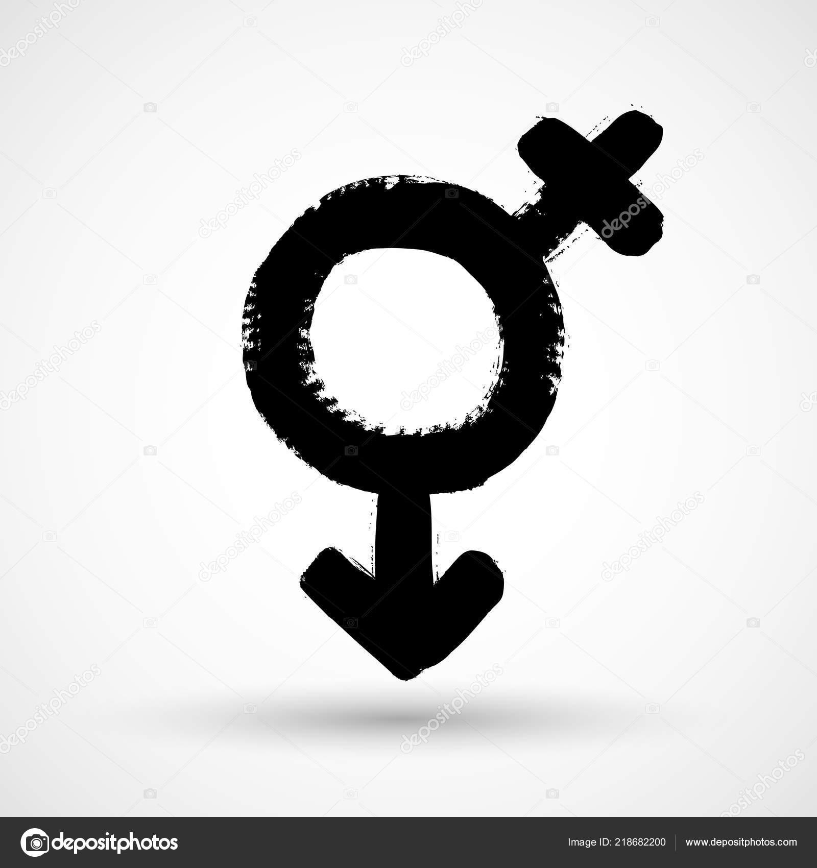 Mann Und Frau Symbol Symbol — Stockvektor © LarysaRay