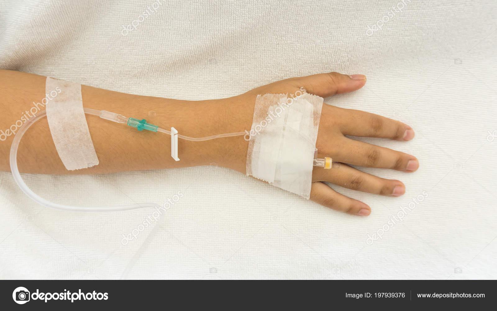 Injection saline