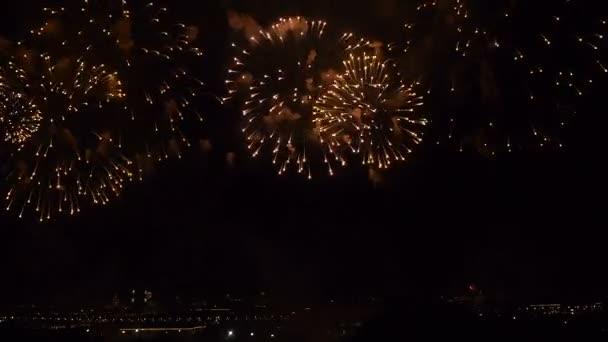 Erstaunliches Feuerwerk