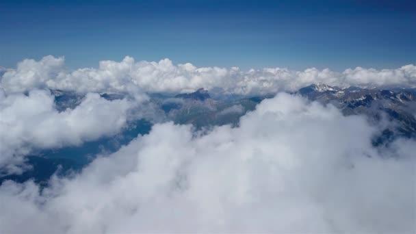 Létání přes Alpské hory