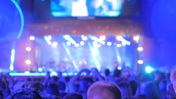 Rozostřeného koncertní osvětlení