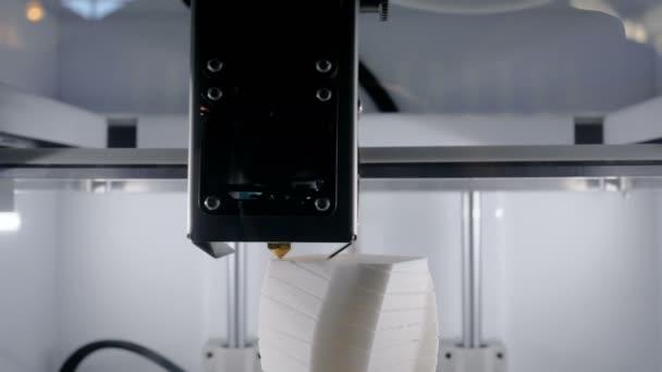 Moderní 3d tiskárny stroje tisk plastikový model