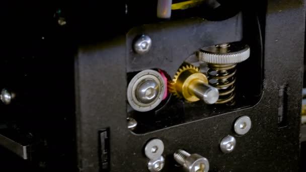 Moderne 3D-Drucker Maschine Druckmodell Kunststoff
