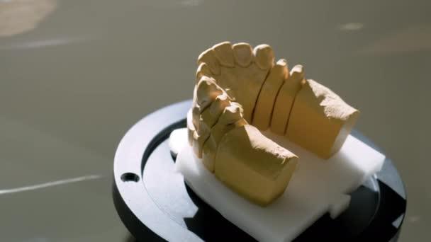 3D-Dentalscanner zum Scannen und Messen von Gips-Modellen - Nahaufnahme