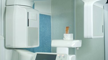 Dental X-Ray scanner in clinic