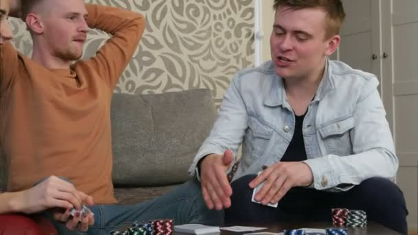 Confident Teen Boy Losing A Poker Game Video By C Fancystudio Stock Footage 197416382