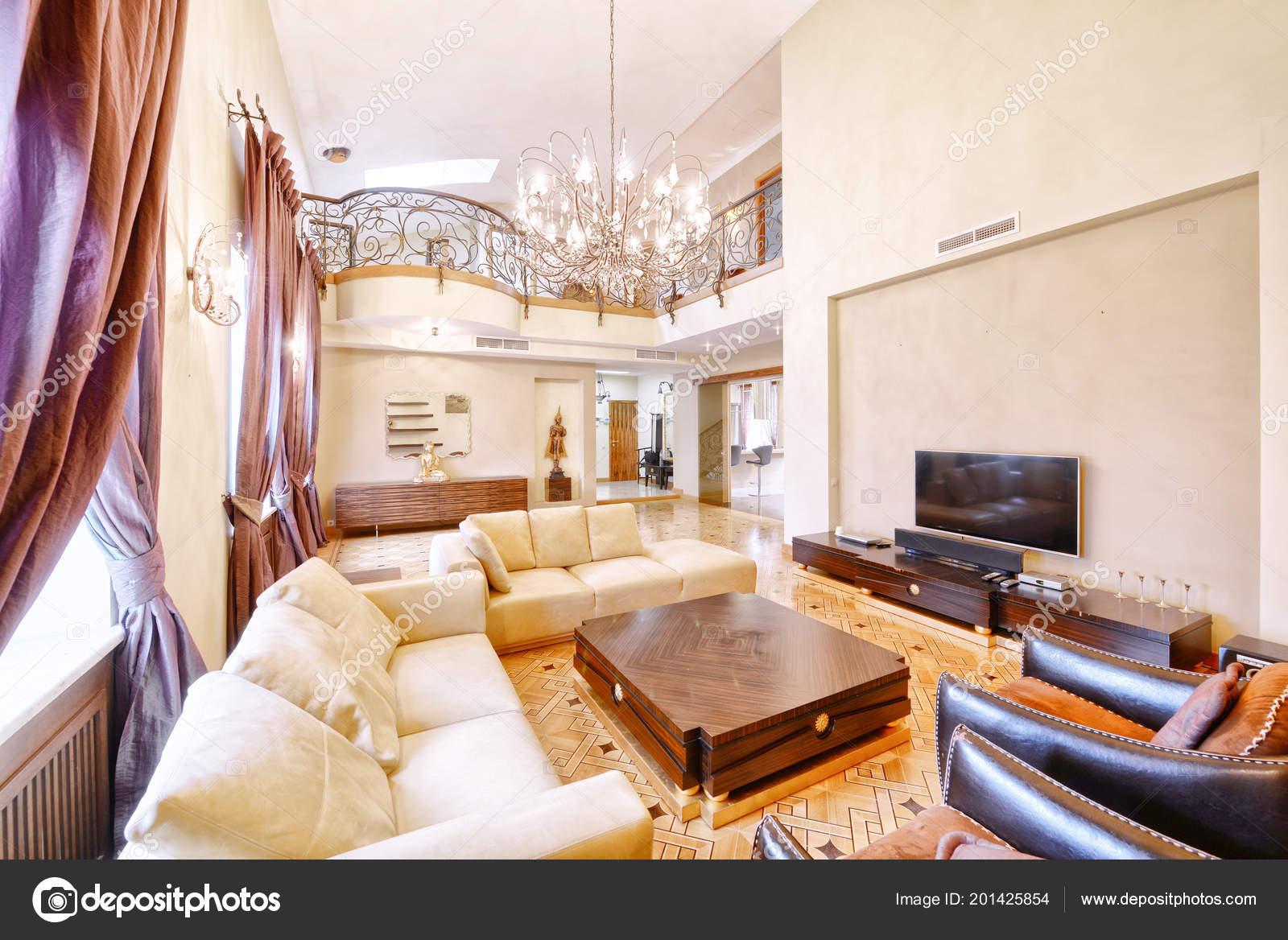 Salon Intérieur En Maison Moderneu2013 Images De Stock Libres De Droits