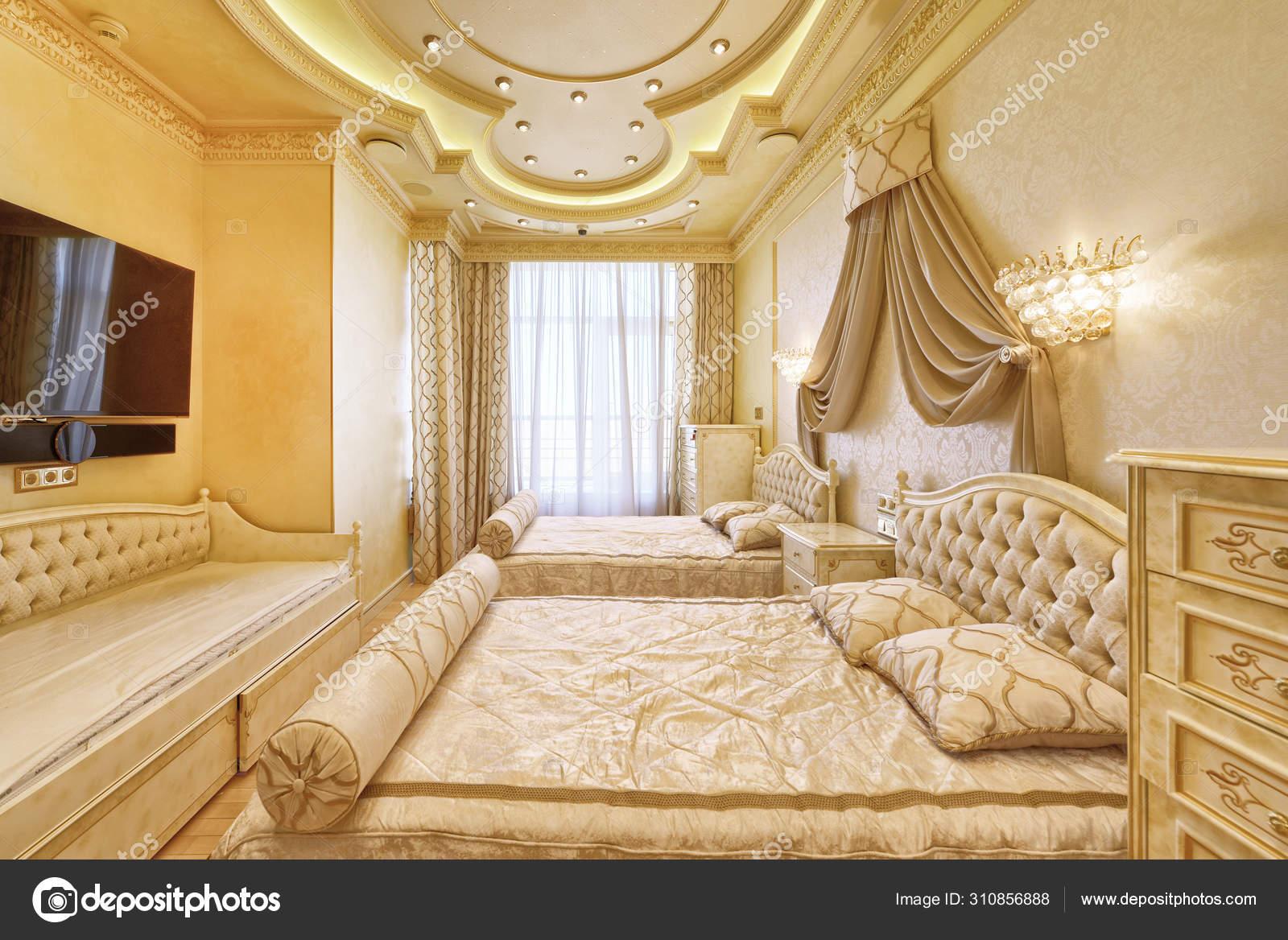 Interior Luxurious Rumah Modern Desainer Renovasi Modern Sebuah Rumah Mewah Stok Foto C Ovchinnikovfoto 310856888