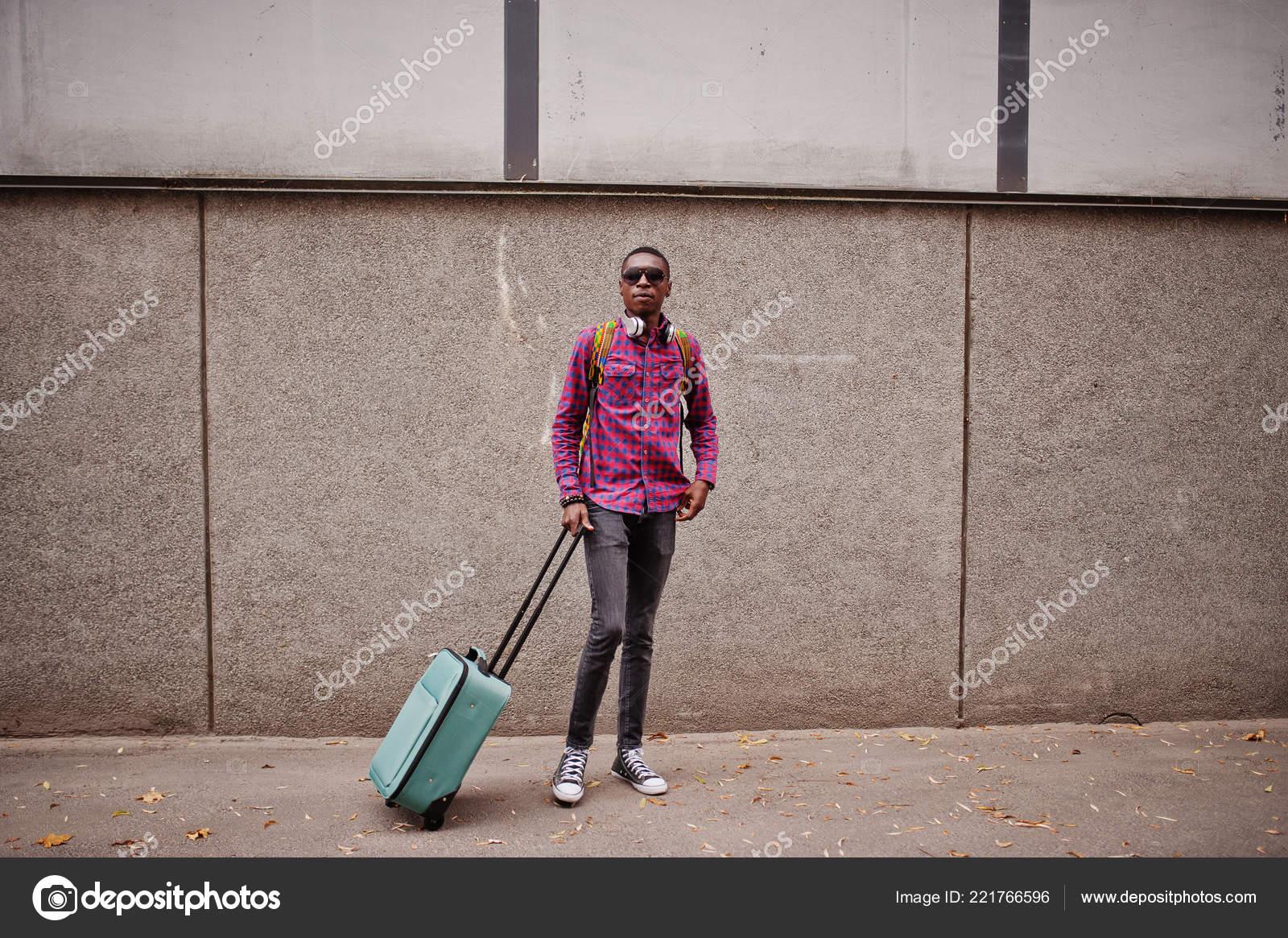 size 40 ba3e4 a4954 Uomo Dell Afroamericano Camicia Scacchi Occhiali Sole ...