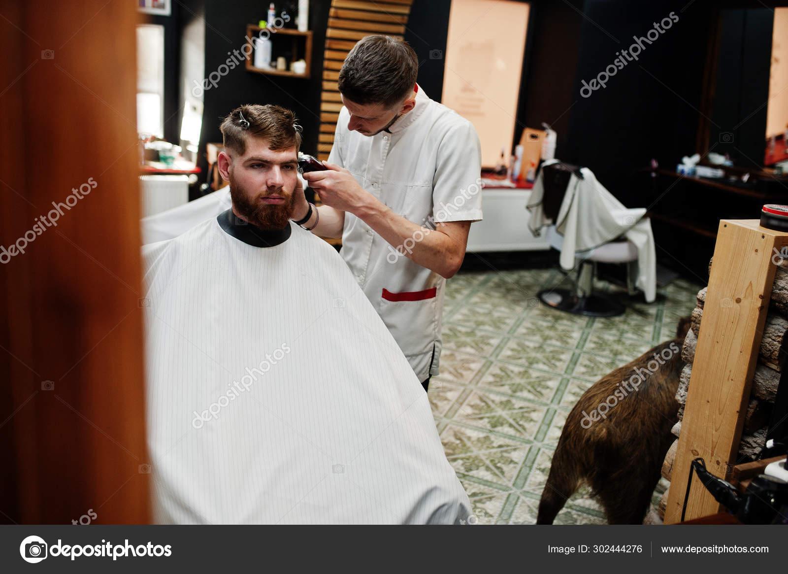 Getting A Haircut 57