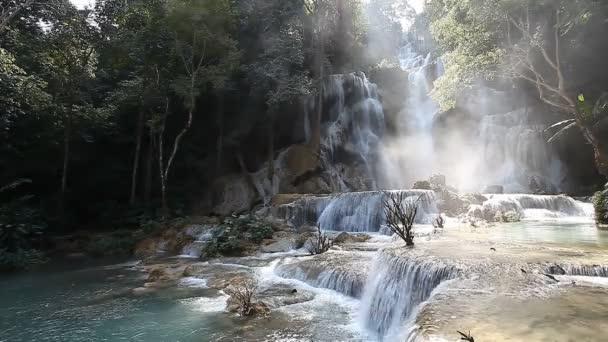 Wonderful Tad Kuang Si Waterfall in Laos