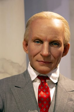 New York, USA - April 30, 2018: Henry Ford in Madame Tussauds of New York