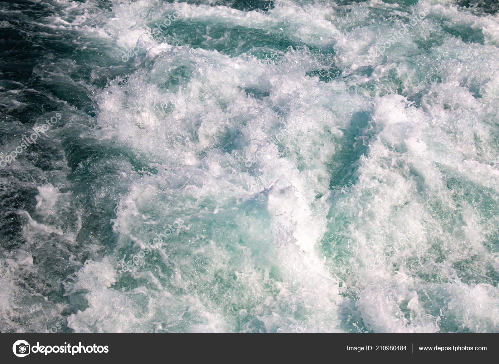 Surface Water Waves Texture White Foam Sea Water Waves