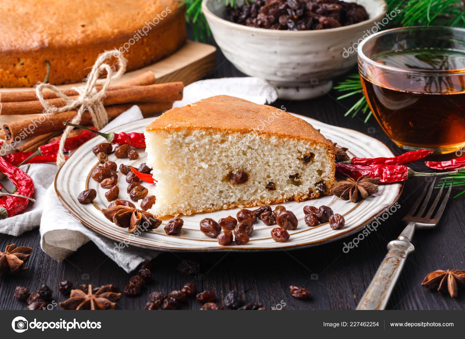Hermosa Deliciosa Casera Pastel Frutos Secos Navidad Tabla