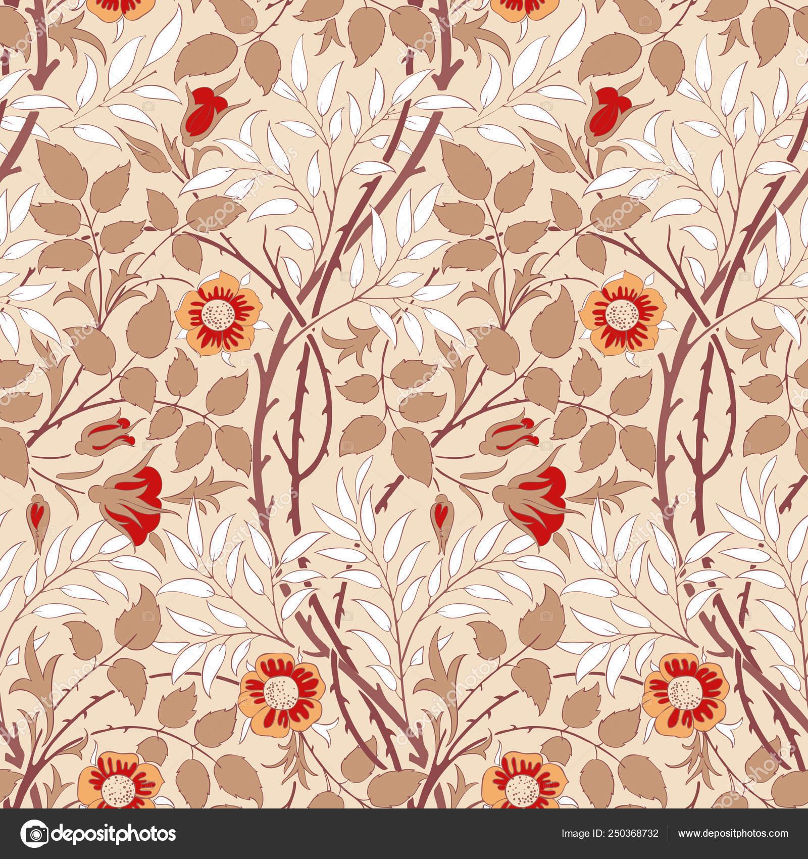 Floral Pattern Your Design Modern Seamless Pattern Interior