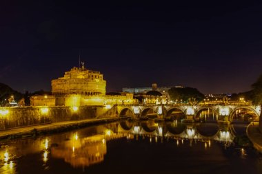 Rome, Italy - June 11, 2012: The eternal city of Rome, Roman streets and buildings, modern and ancient architecture of Rome.