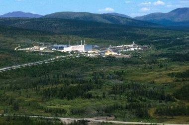 City of Bilibino in Chukotka, Russia