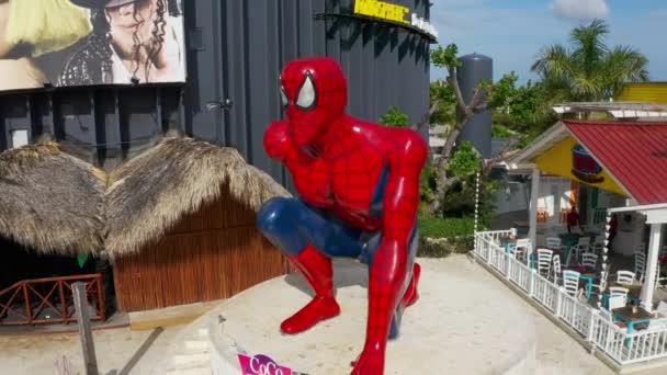 Spider-Man Coco Bongo Punta Cana Dominican Republic Downtown