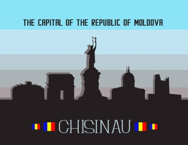 Chisinau city infographics
