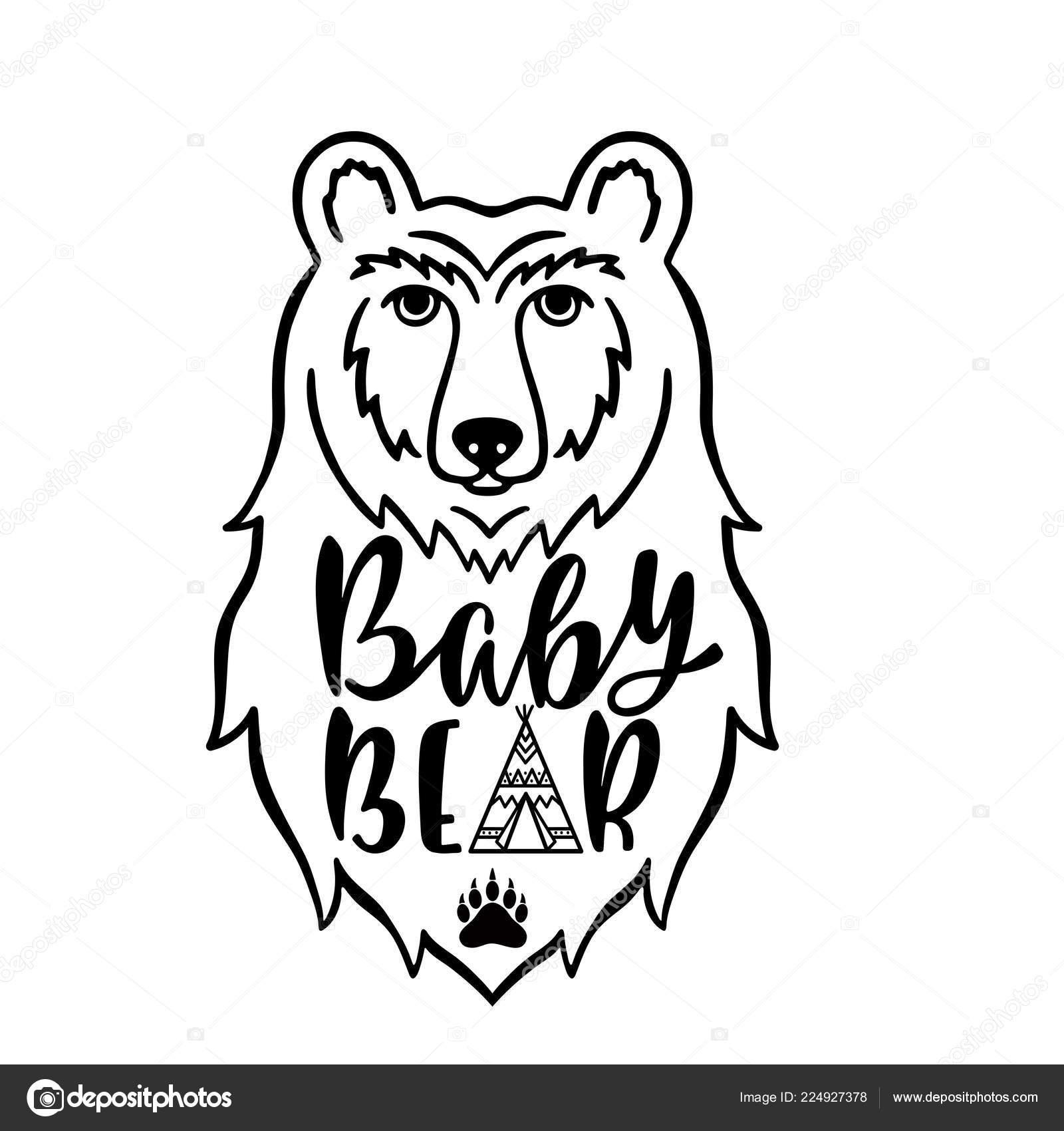 Velký péro táta medvěd