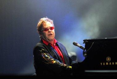 RIO DE JANEIRO, September 12, 2011 - Singer Elton John concert during the Rock in Rio. in Rio de Janeiro