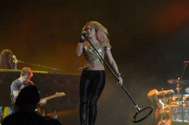 RIO DE JANEIRO, September 11, 2011 - Singer Shakira  show during the Rock in Rio in Rio de Janeiro