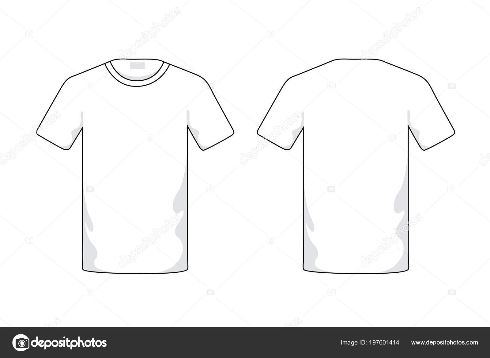 Blank White T Shirt Template Photo By Yutthaphan