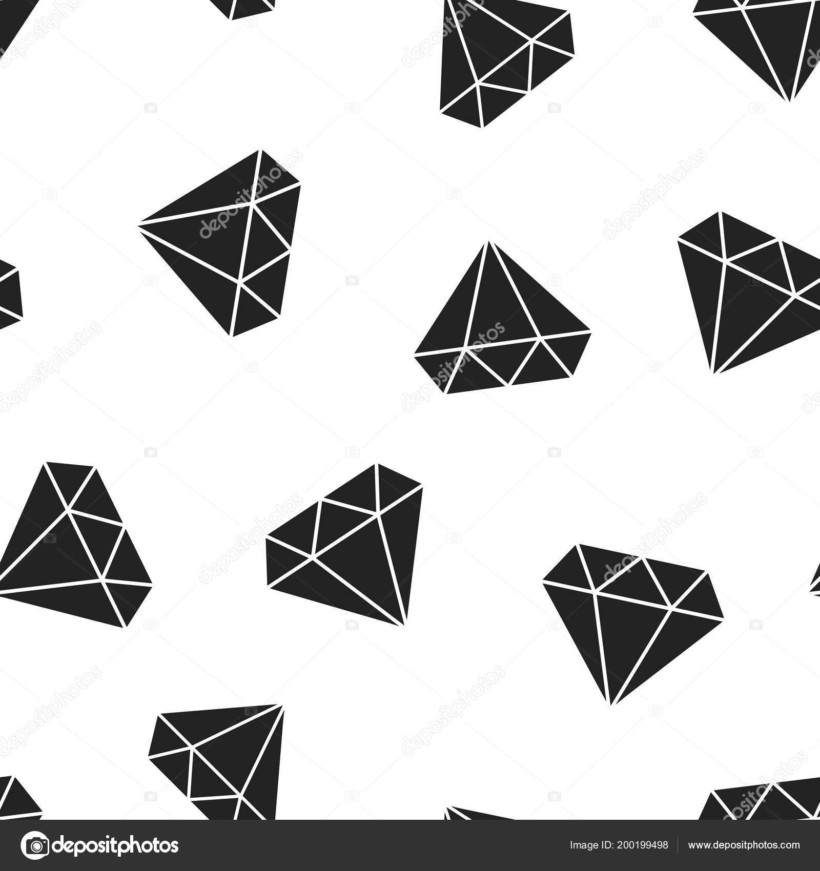 8cc5375177c6 Diamond joya joya icono transparente de fondo. Ilustración de vector de  concepto de negocio. Patrón de símbolo de brillantes piedras preciosas joyas  ...