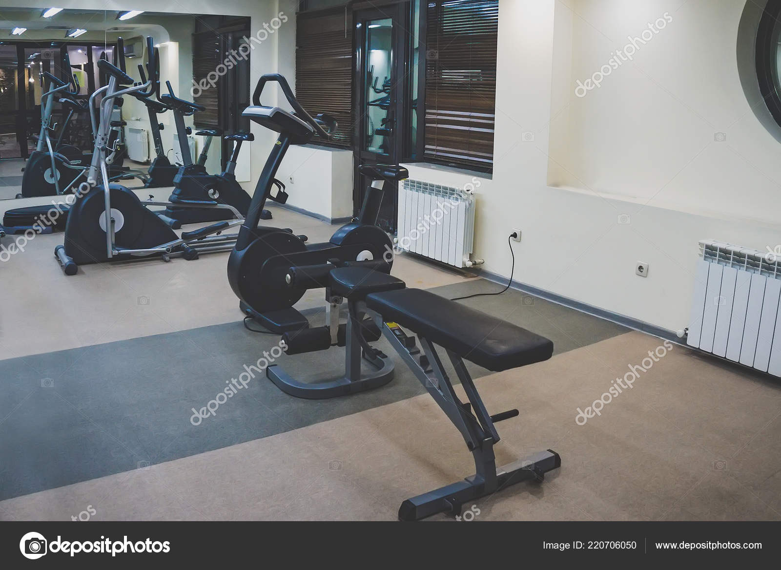 Interior fitness hall various gyms sports small home gym u stock