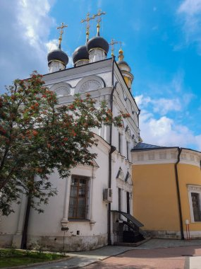 Church of St. Nicholas in Tolmachi. This church is both a Russian Orthodox house church and museum that is part of the State Tretyakov Gallery located in Moscow.