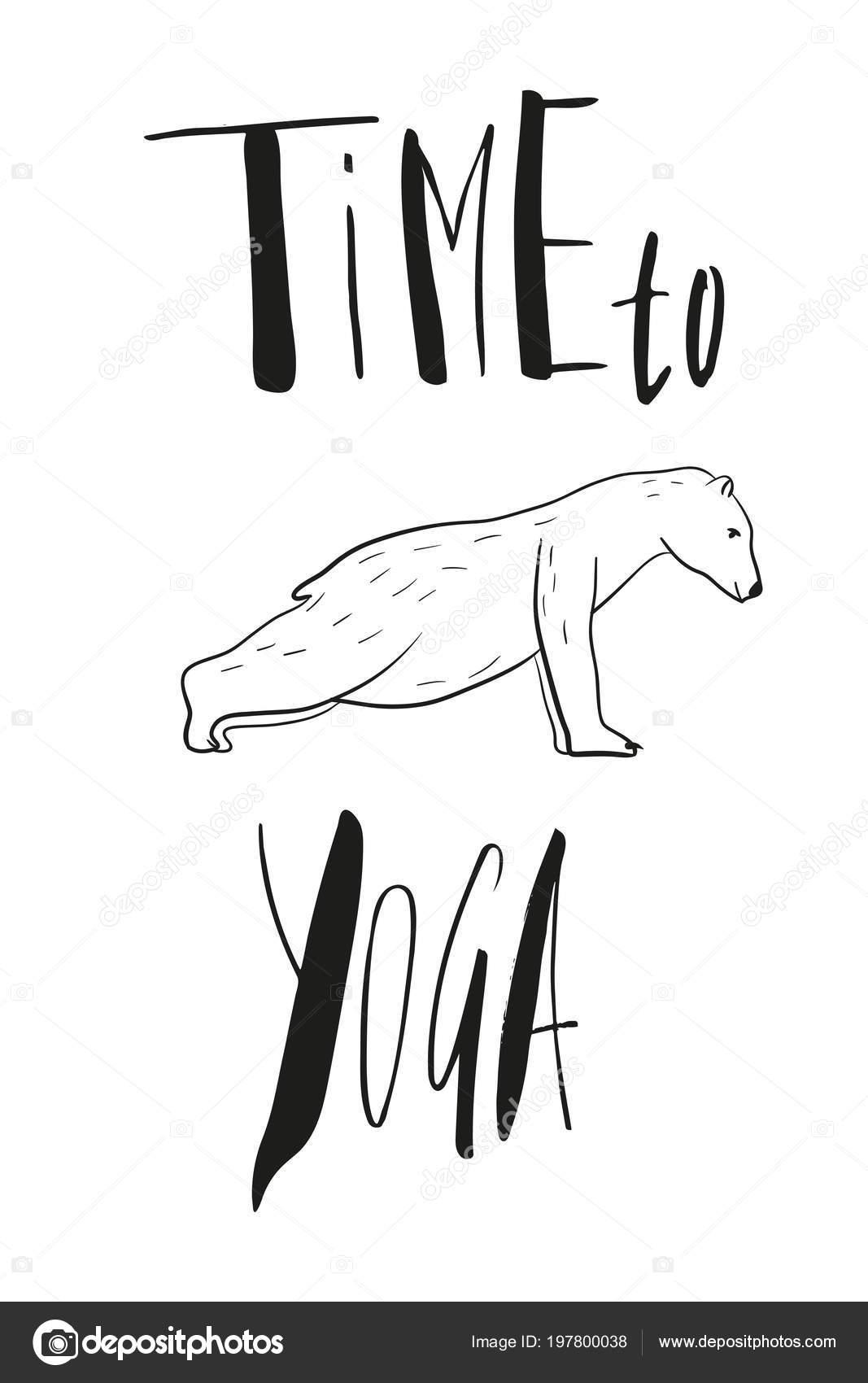 Lustige Yoga Mit Eisbar Eisbaren Fitness Yoga Posen Surya Namaskara