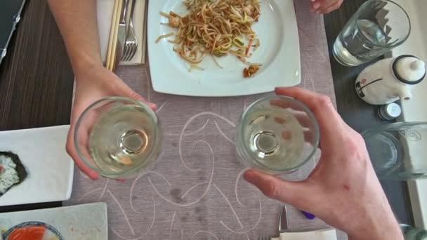 Letecký pohled na víno na zdraví