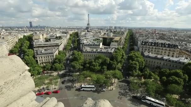 Eiffelturm-skyline