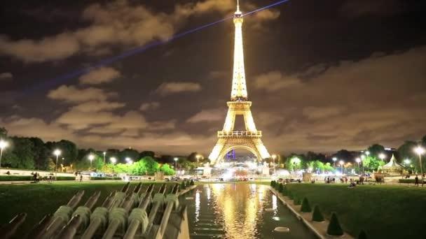 Tour Eiffel in Trocadero Garden