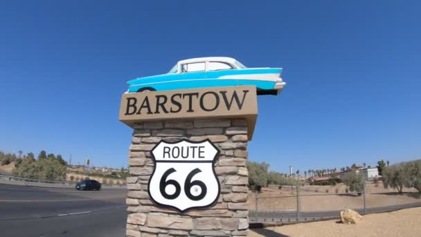 Barstow Route 66 entrance